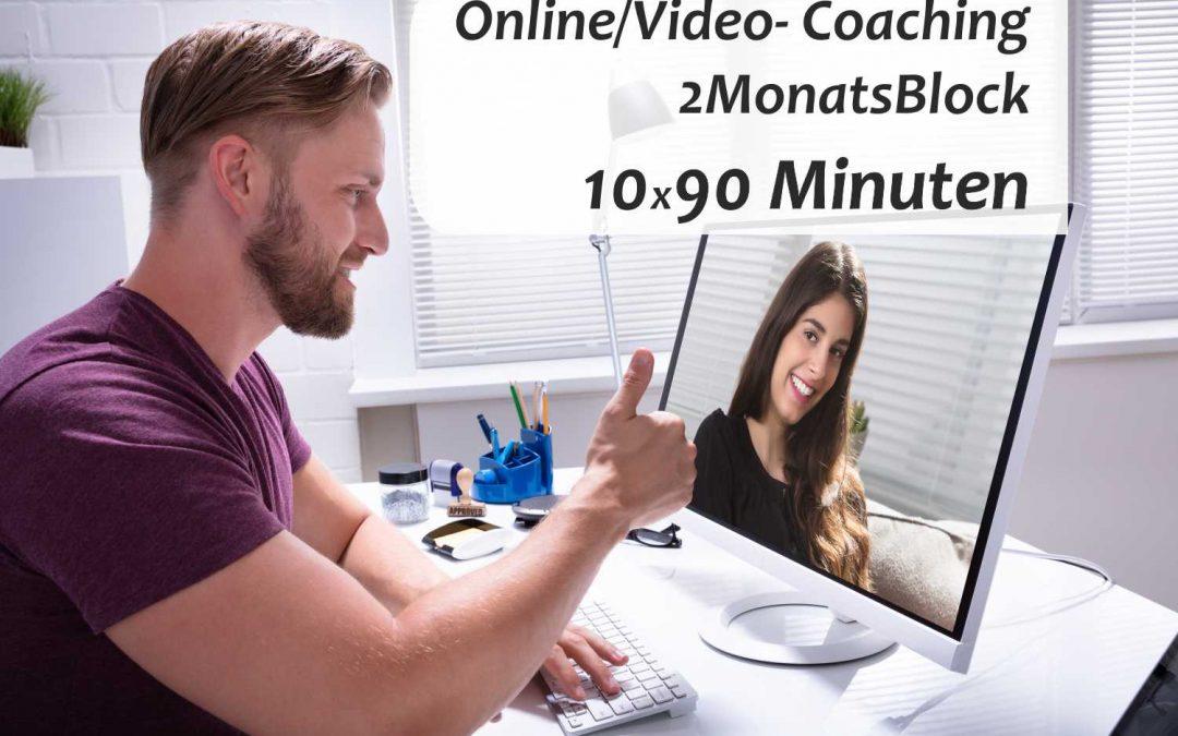 Online/Video-Coaching 2-MonatsBlock 10×90 Minuten